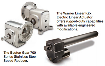 Boston Gear 700 and Linear Actuator