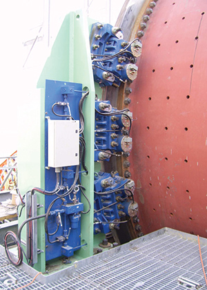Twiflex VMSDP Brakes on Ball Mill