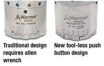 Warner Capping Tool Less Design