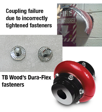 TB Woods Wrong Fasteners Fail