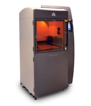 Warner Electric 3D Printer Testing